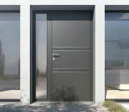 porte, aluminium, nice